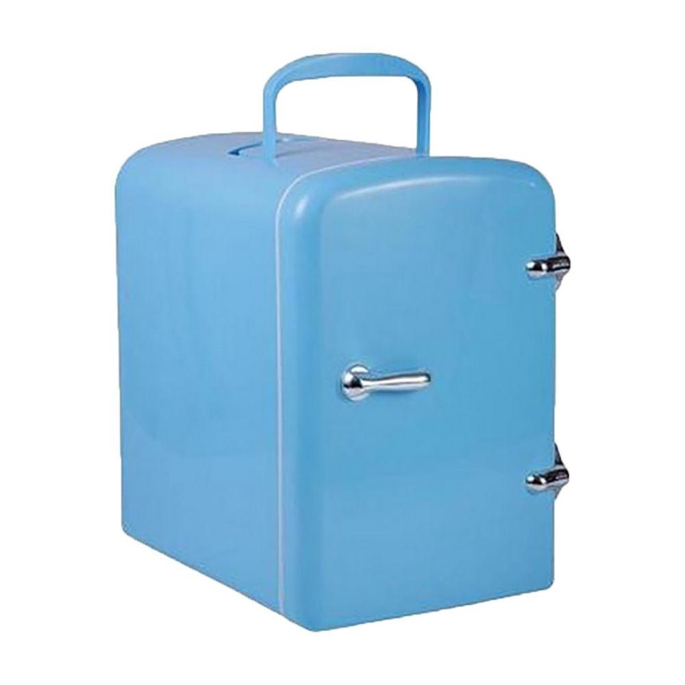 Generic Fonction de refroidissement électronique de refroidissement rapide de réfrigérateur portatif 4L petit réfrigérateur - Bl