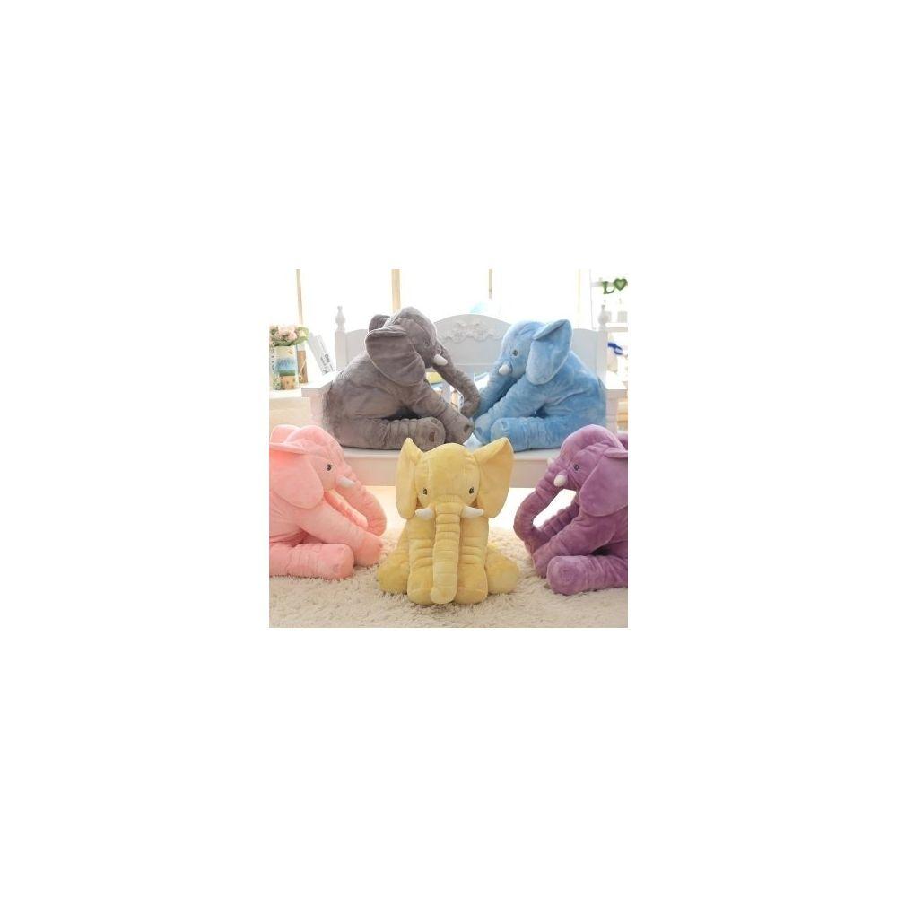 Wewoo Poupée Peluche 40cm douce apaiser éléphant oreiller bébé sommeil jouets en (bleu)
