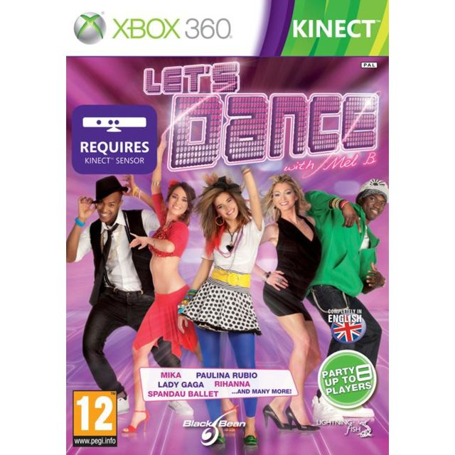 marque generique - Dance Party with Mel B (KINECT) ( Let's Dance ) - Jeux XBOX 360