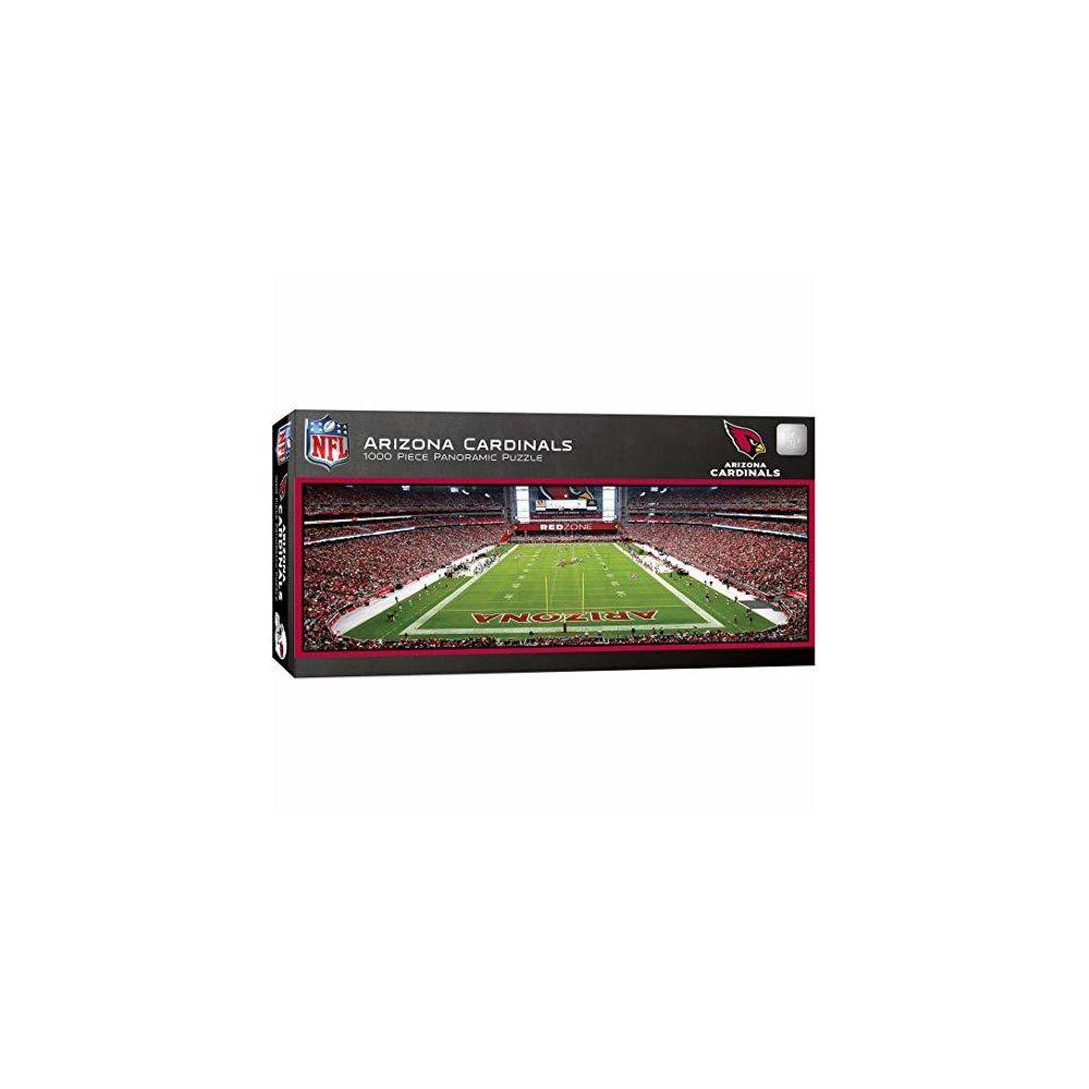 Master Pieces MasterPieces NFL Arizona Cardinals Stadium Panoramic Jigsaw Puzzle 1000 Pieces