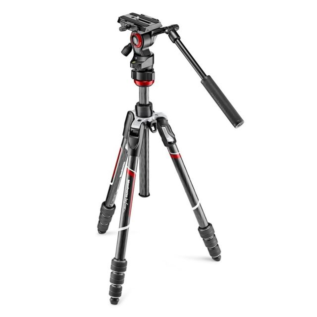Manfrotto - MANFROTTO Trépied Befree Live Carbone MVKBFRTC-LIVE twist lock avec rotule ball - Manfrotto