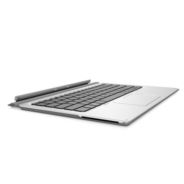 Hp - HP elite x2 1012 advanced keyboard - nfc / smartcard reader / backlit (P5Q65AA#ABB) - Clavier