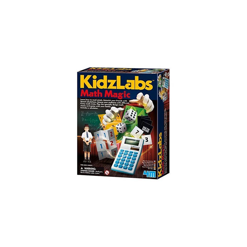4M 4M Math Magic Puzzles and Games