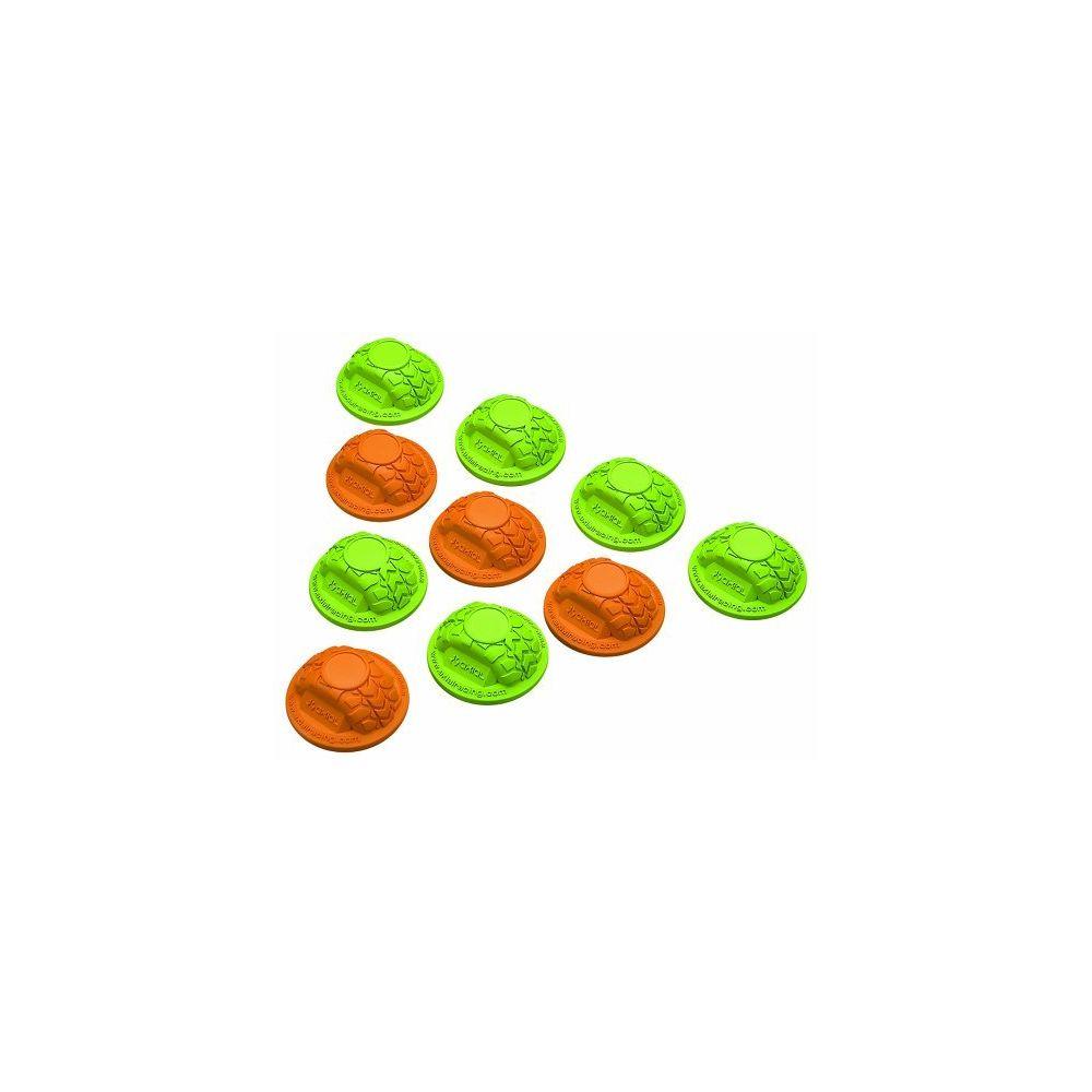 Axial Axial AX12014 Gate Marker Set (10-Piece) Green/Orange