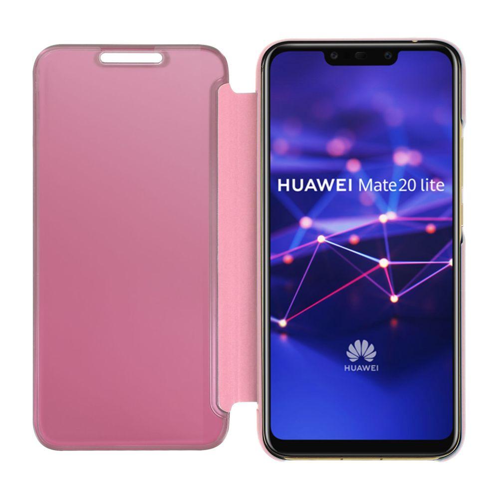 Avizar - Housse Huawei Mate 20 lite étui folio miroir ultra-fine ...