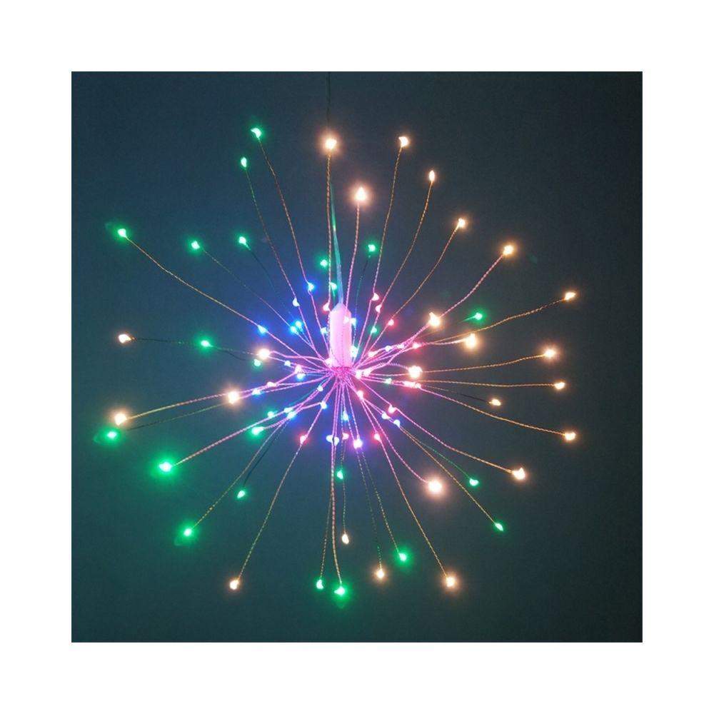 Wewoo Guirlande LED Forme Bouquet Pliable Lumineuse Feu D'artifice Feux de Décoratif à Piles pour Garland Patio Fêtes Mariage