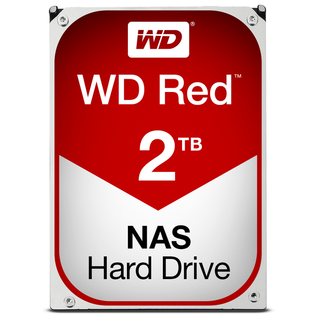 Western Digital - WD RED 2 To 3.5'' SATA III (6 Gb/s) Cache 64 Mo - Disque Dur