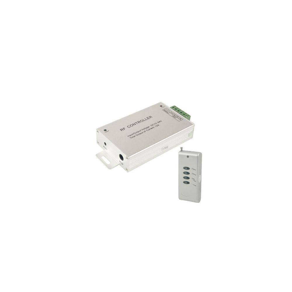 Wewoo Argent pour RGB LED Bande Télécommande 12A RF Audio Controller