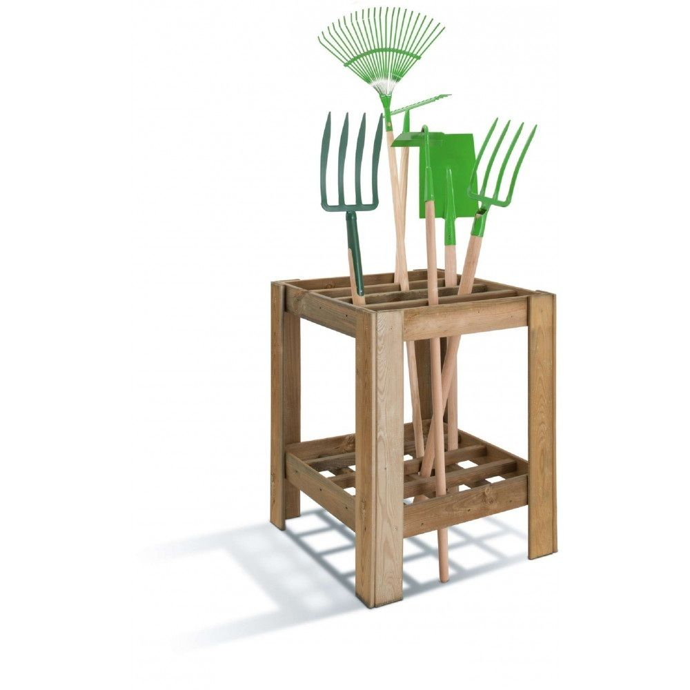 Jardipolys Range-outils en bois