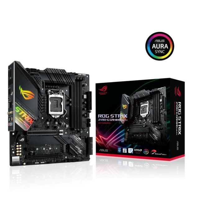 Asus - INTEL Z490-G ROG STRIX GAMING(WI-FI) - ATX - Carte Mère