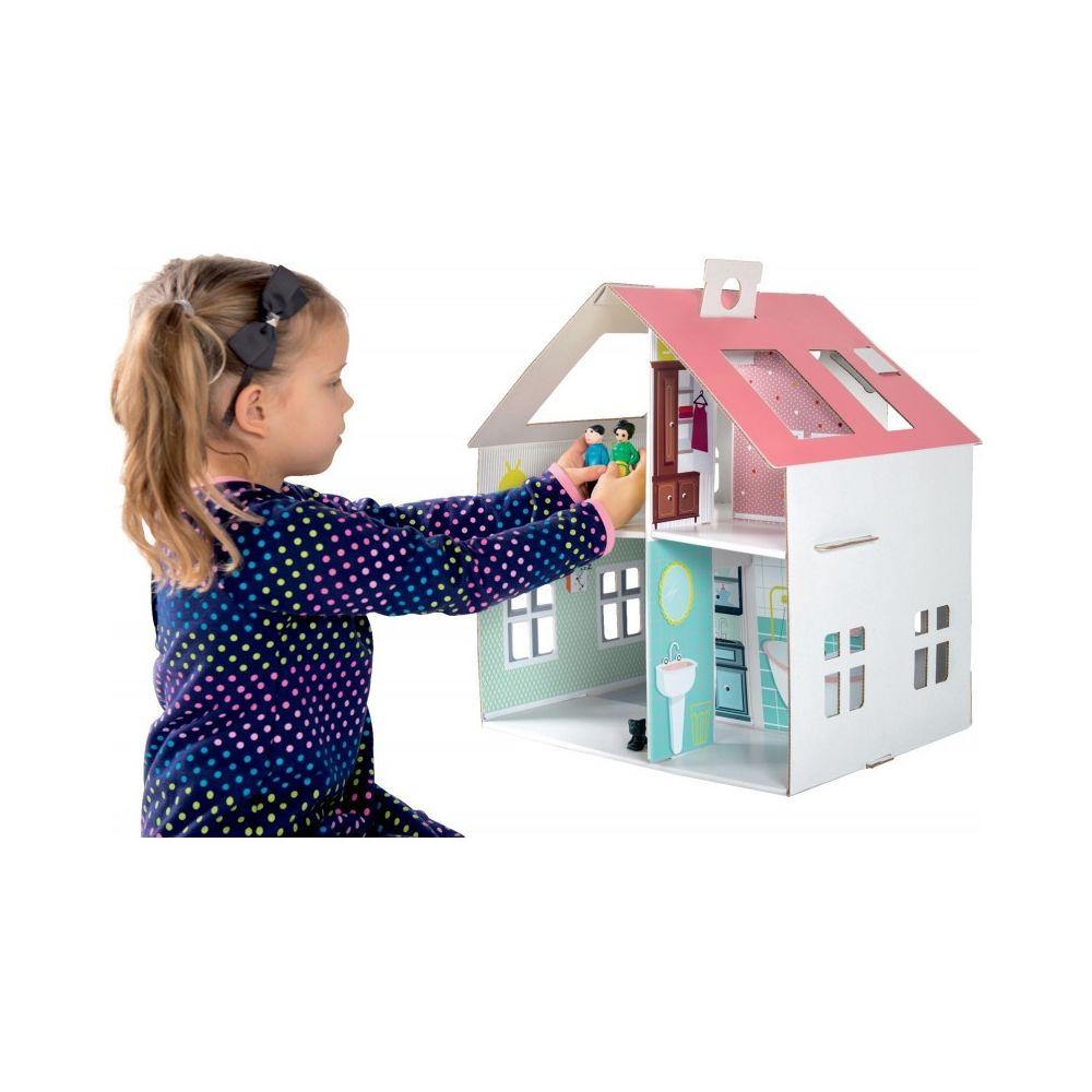 Small Foot Company Maison de poupée en carton à coller