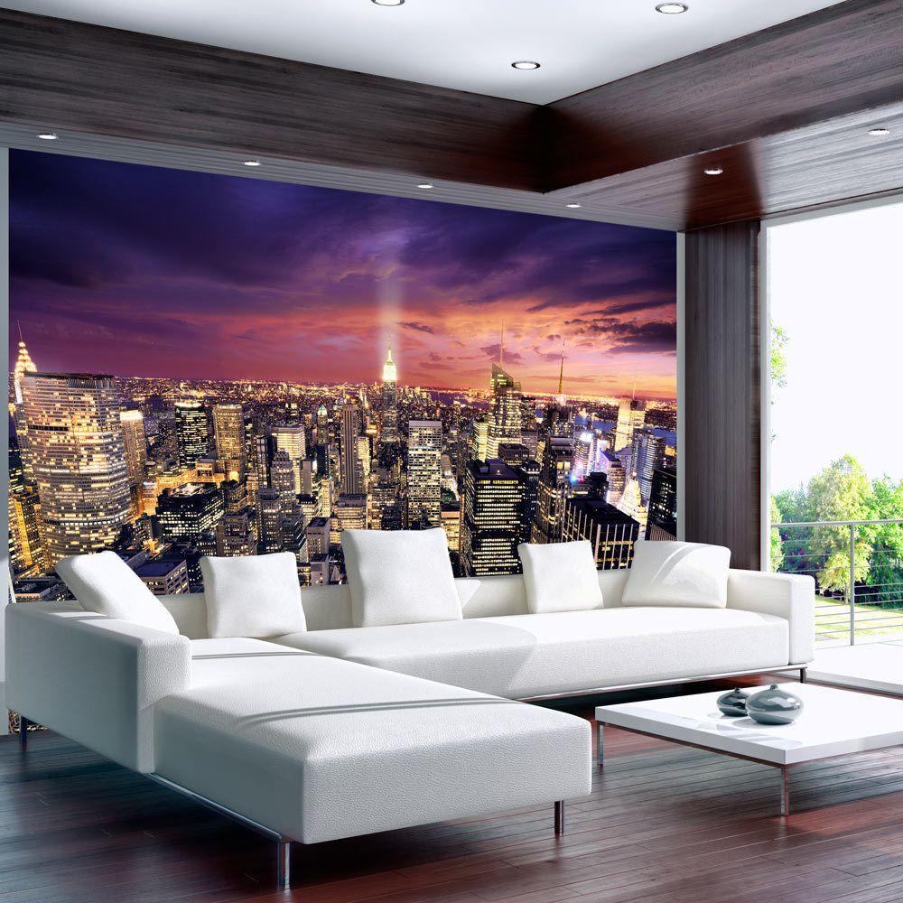 Bimago Papier peint - Evening in New York City - Décoration, image, art | Ville et Architecture | New York |