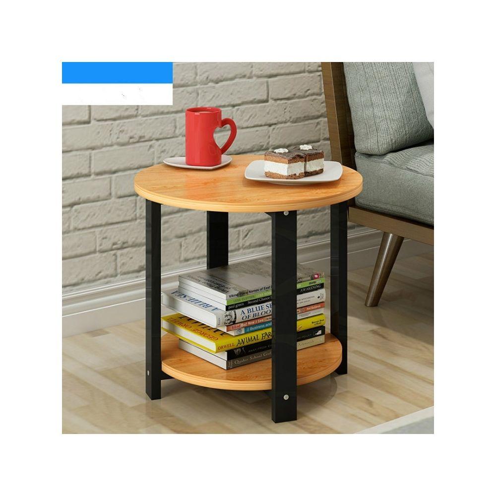 Wewoo Table basse ronde en bois de salon moderne simple de sofa de chambre à coucher de de de taille petite tailletaille 60 *