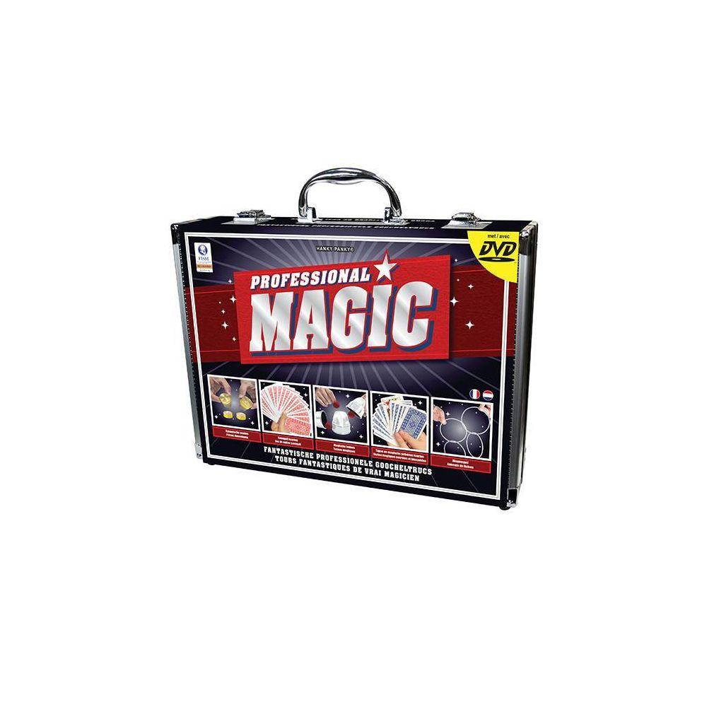 Smir Professional Magic - Mallette Magie Aluminium - 150 tours incroyables - DVD inclus