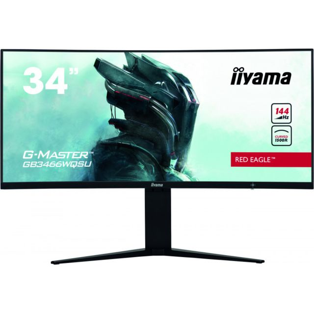 "Iiyama - 34"""" LED GB3466WQSU-B1 - Moniteur PC Gamer"