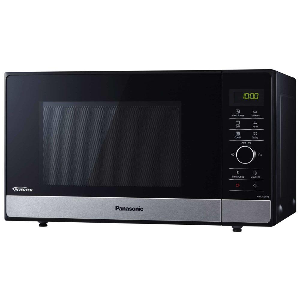 Panasonic panasonic - micro-ondes grill 23l 1000w noir - nngd38hssug