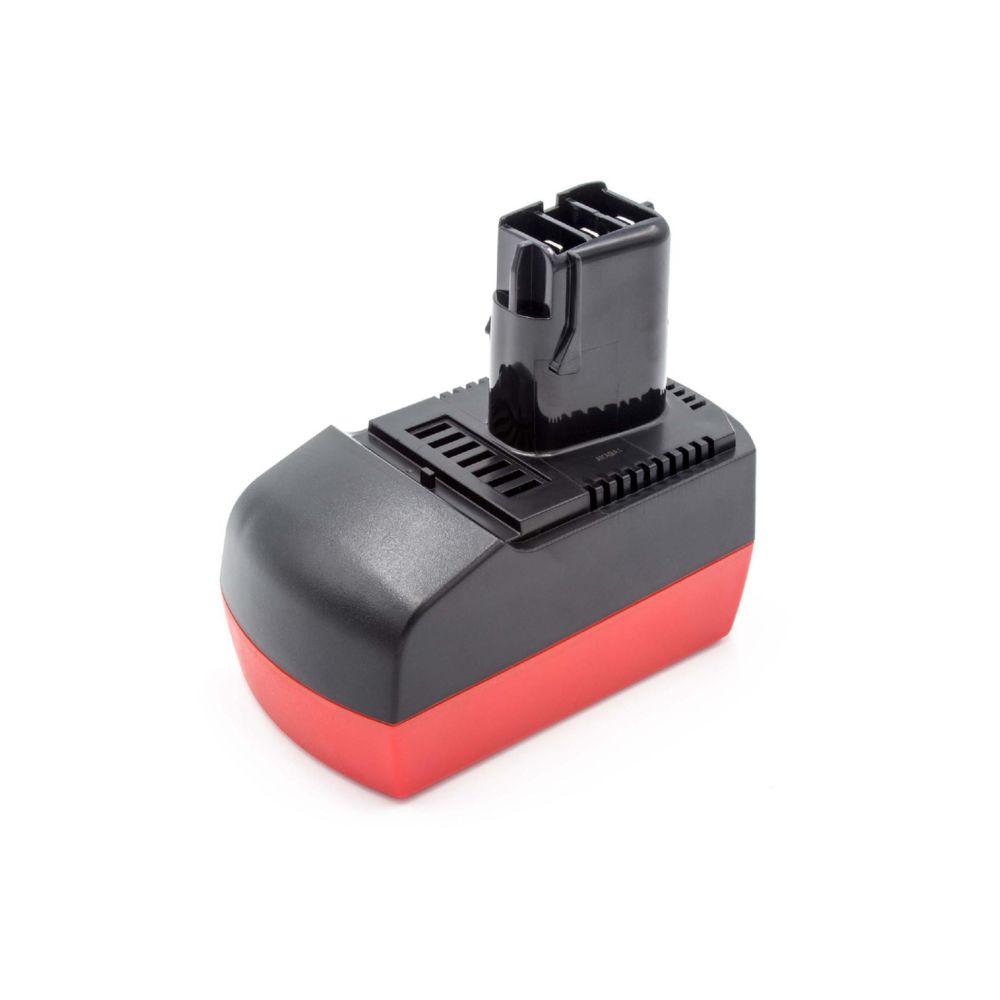 Vhbw vhbw NiMH Batterie 3000mAh pour outils électriques Metabo BSZ 14.4, BSZ 14.4 Impuls, SBZ 14.4 Impuls, ULA9.6-18 comme 6.