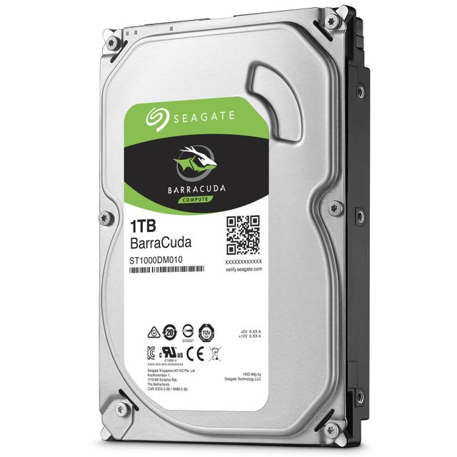 Seagate - Barracuda 1 To - 3.5'' SATA III 6 Go/s - Cache 64 Mo - Top deals de début d'année