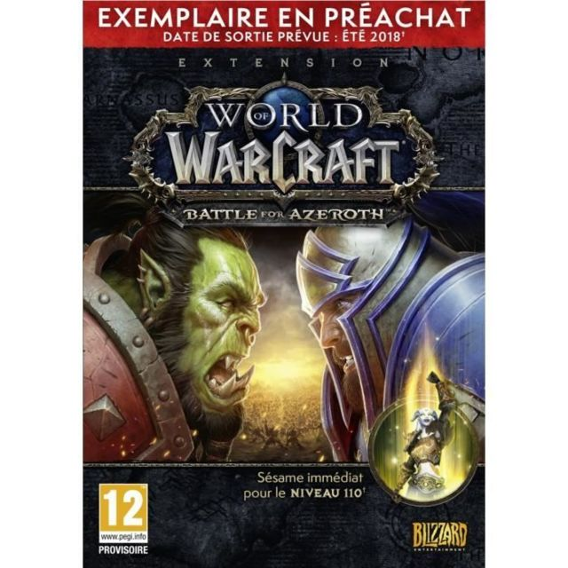 Activision Blizzard - PC World of Warcraft : Battle for Azeroth - Préachat Activision Blizzard   - Activision Blizzard