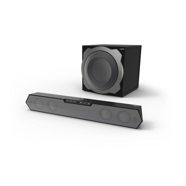 "Hama - Système audio Gaming multicanal ss fil """"uRage SoundZbar 2.1 Unleashed"""" - Hama"