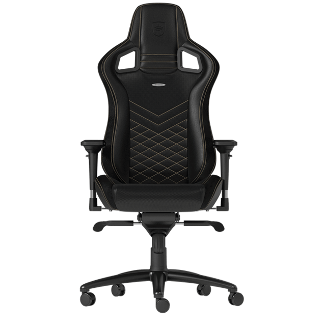 Noblechairs -EPIC - Noir/Or Noblechairs  - Chaise gamer