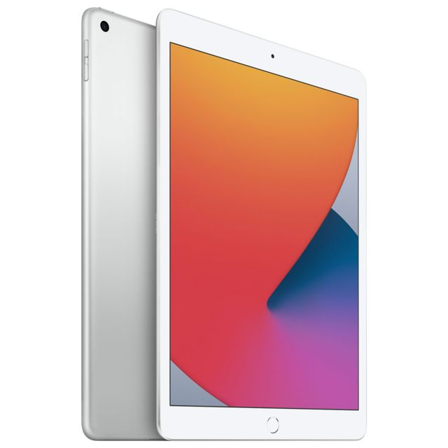 "Apple - iPad 10.2"""" 2020 - WiFi - 32 Go - Argent - Tablette tactile"