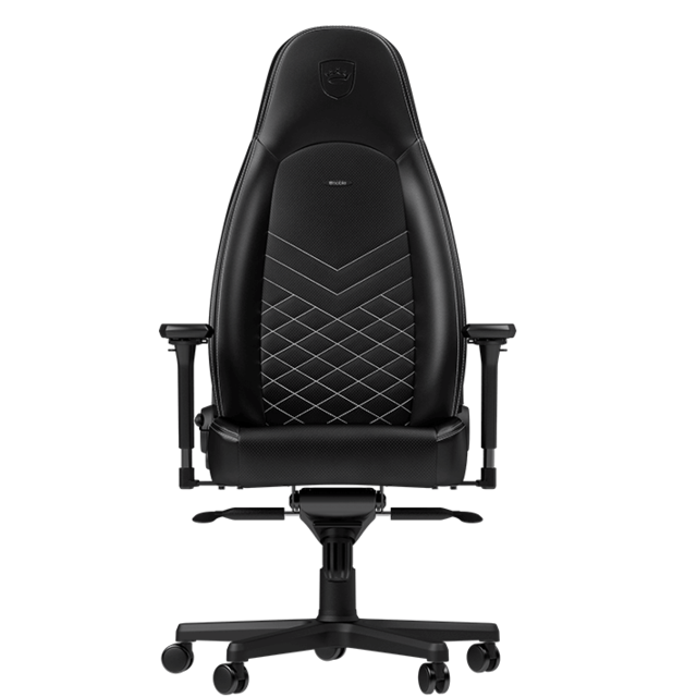 Noblechairs - ICON - Noir/Blanc Noblechairs   - Chaise gamer