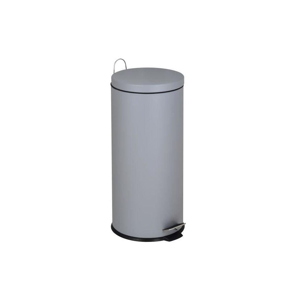 Kitchen Move kitchen move - poubelle à pédale 30l gris - 905567egreyss