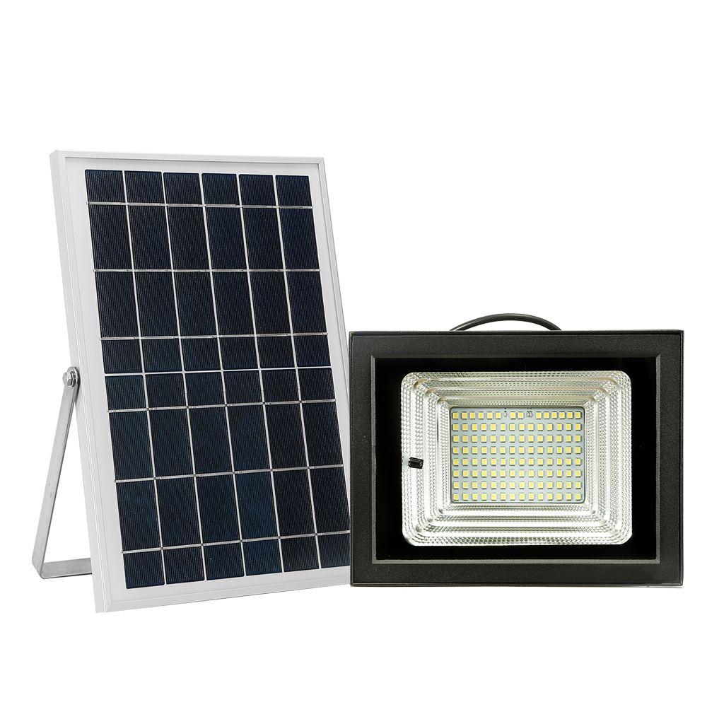 Generic Projecteur à énergie solaire LED 112 Perles de lumière LED Éclairage extérieur à lumière solaire pour la piscine, allée