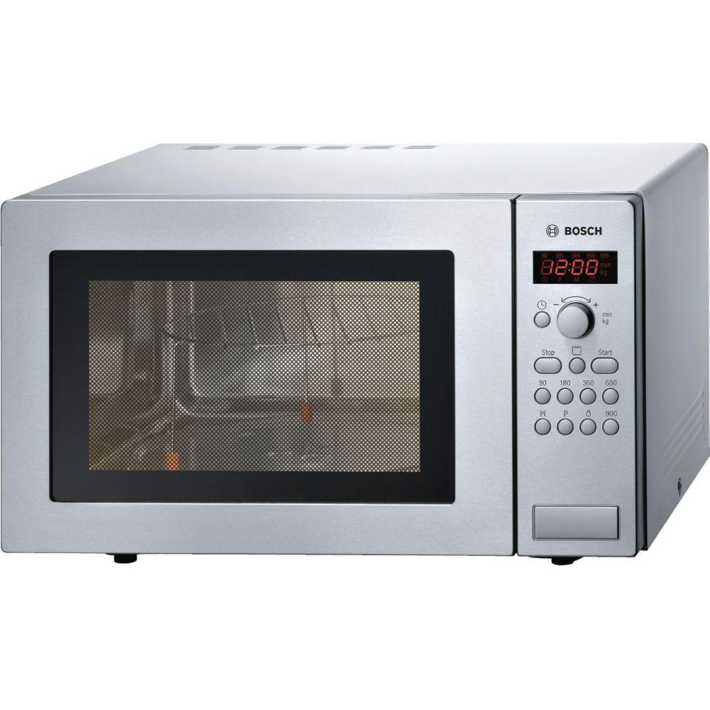 Bosch bosch - micro-ondes gril 25l 900w inox - hmt84g451