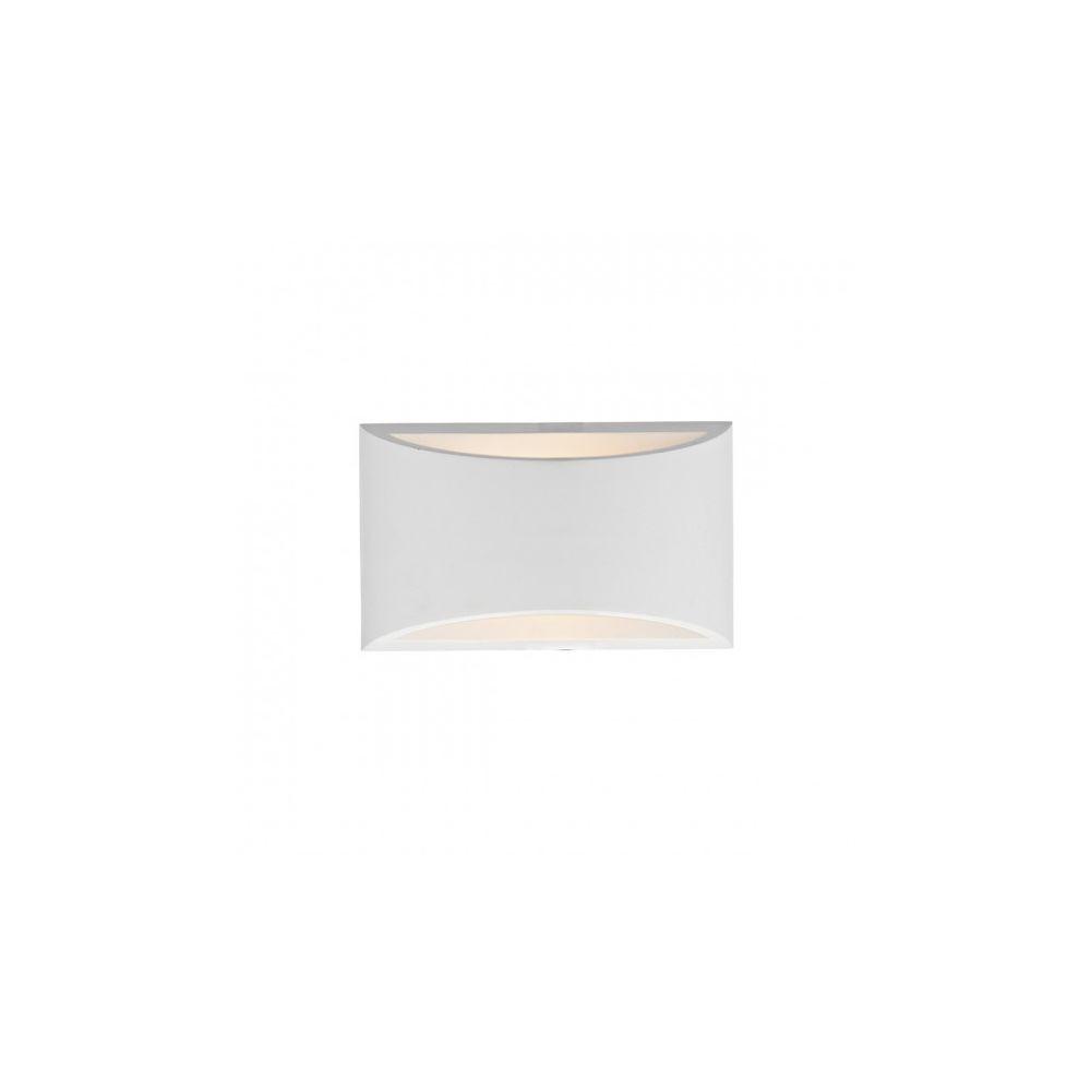 Luminaire Center Applique murale Hove blanc et plâtre 1 ampoule