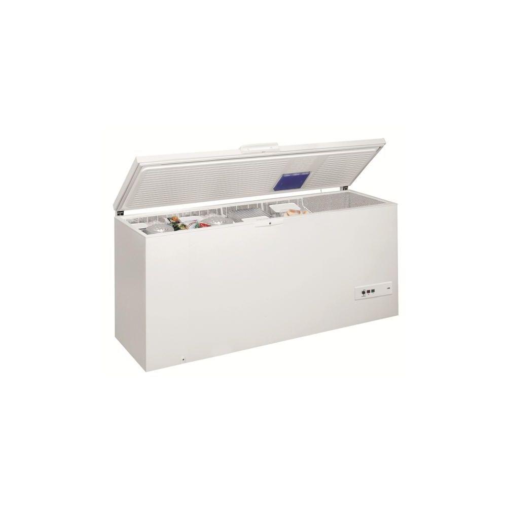 whirlpool whirlpool - congélateur coffre 140cm 454l a+ blanc - whm4611