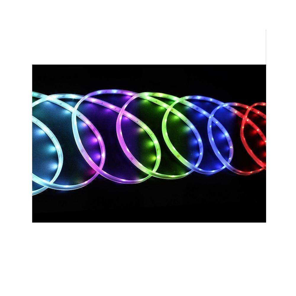 JJA Tube LED lumineux 6 m extérieur couleurs changeantes