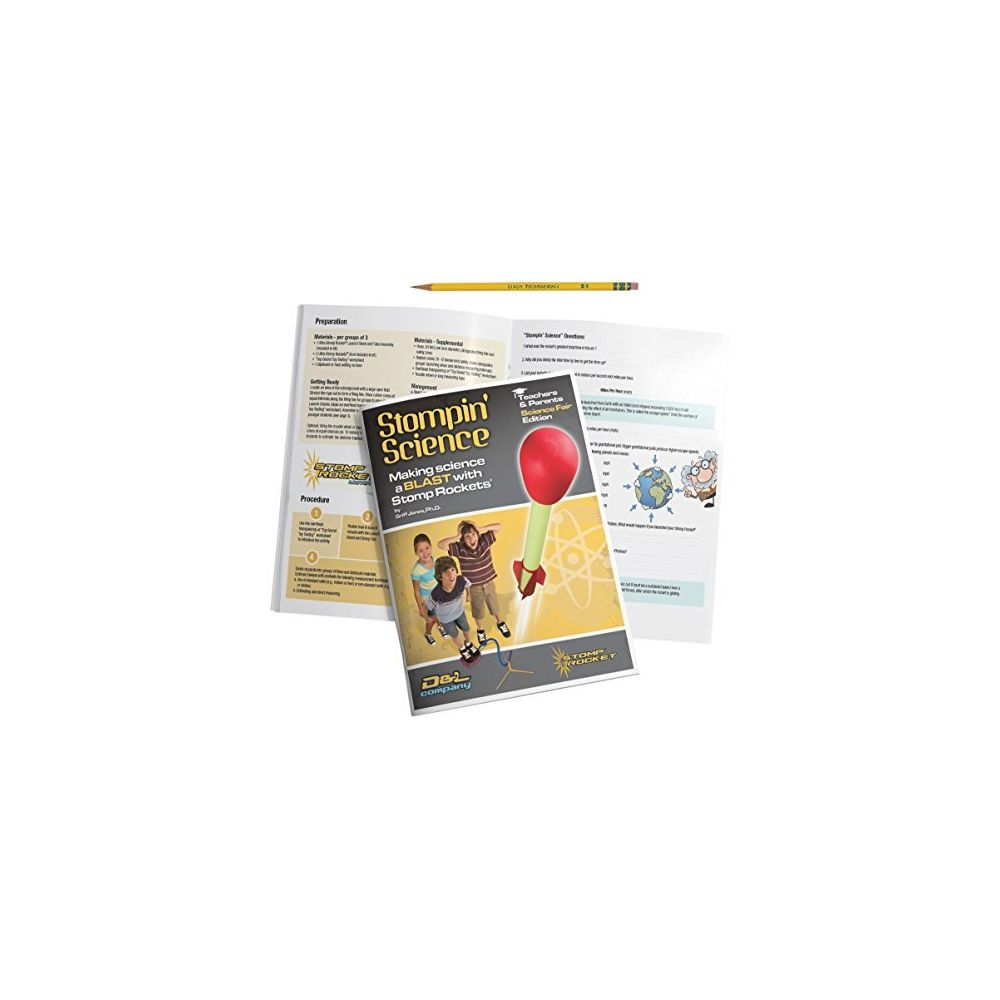 Stomp Rocket Stomp Rocket Stompin' Science Book - Use with Toy Rocket Launcher Kits