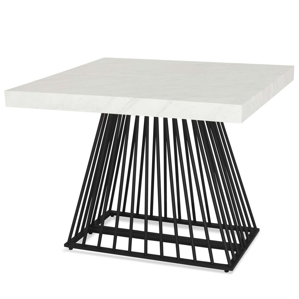 MENZZO Table extensible Factory Effet Marbre