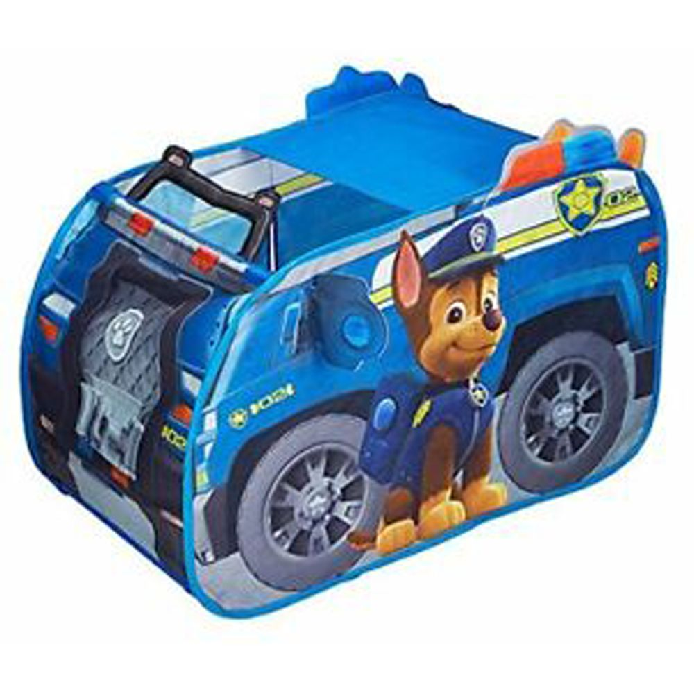 Pegane Tente de jeu en forme de voiture La Pat Patrouille Chase - Dim : 100 x 70 x 70 cm -PEGANE-