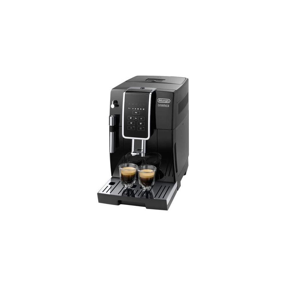 Delonghi machine à expresso avec écran et broyeur pour Café en grains et moulu 1450W gris noir