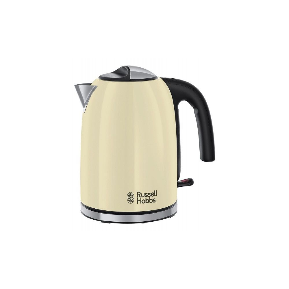 Russell Hobbs RUSSELL HOBBS Bouilloire 1,7l - 2400W COLOURS PLUS+ Crème 20415-70