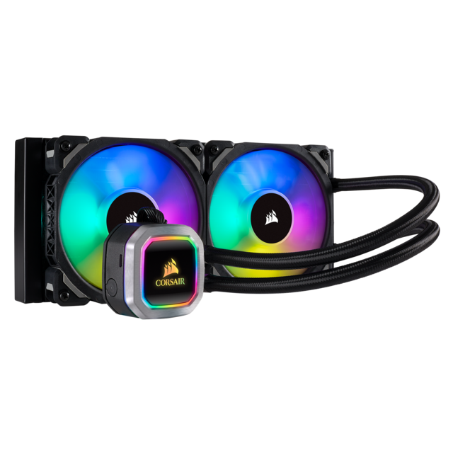 Corsair - Hydro Series H100i RGB PLATINUM - 240mm - Corsair