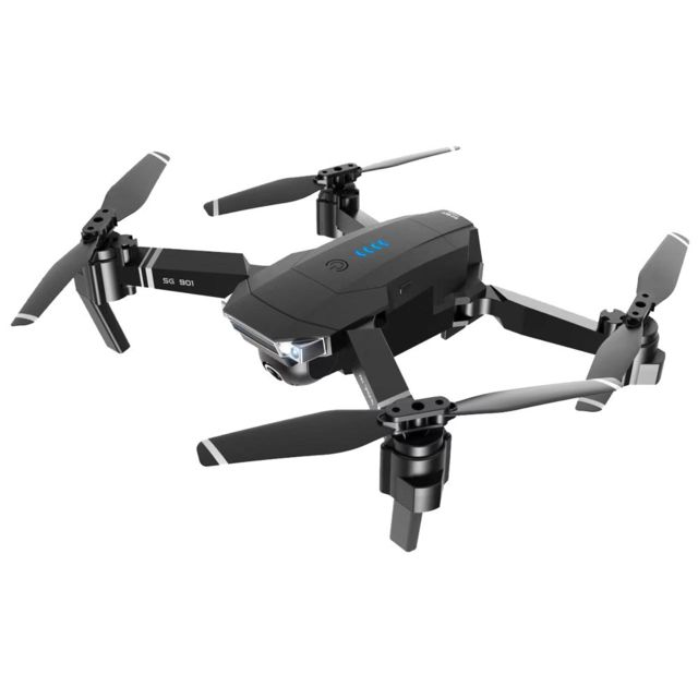 Generic - SG901RC FPV Drone Quadcopter flux optique 1080P Dual Camera Photo Video Gestures Noir - Drone connecté