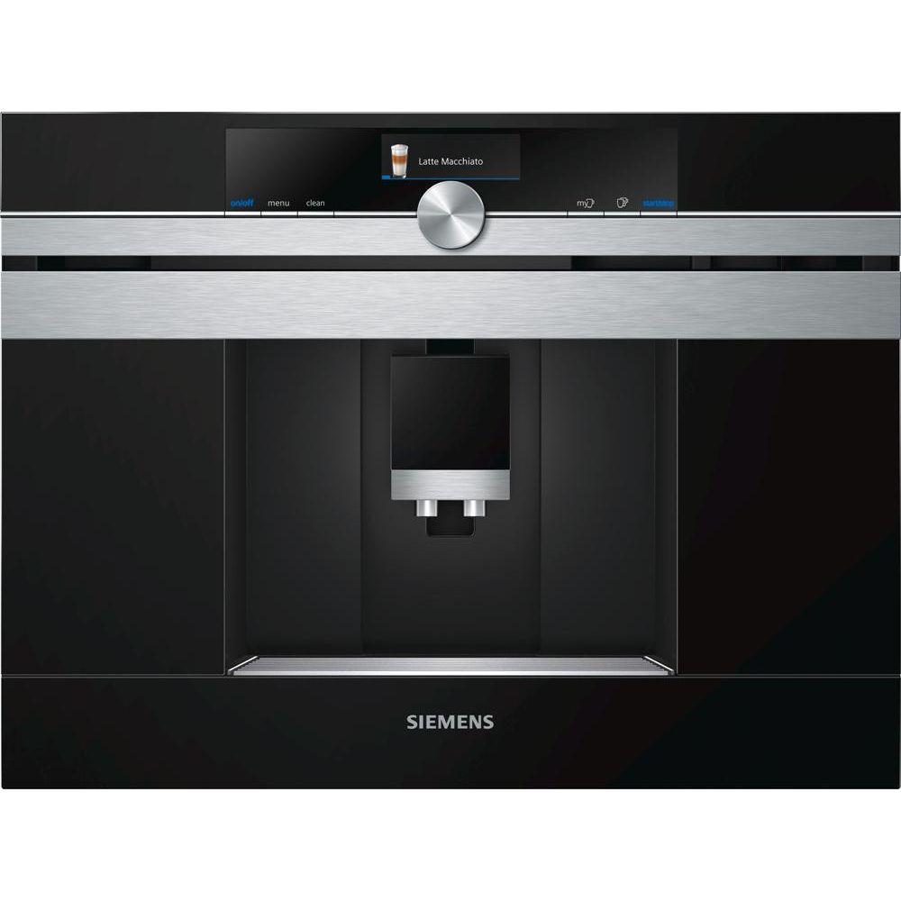 Siemens siemens - robot café expresso 19bars encastrable acier inox - ct636les6