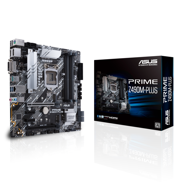 Asus - INTEL Z490M-PLUS PRIME - Micro-ATX - Carte mère Intel