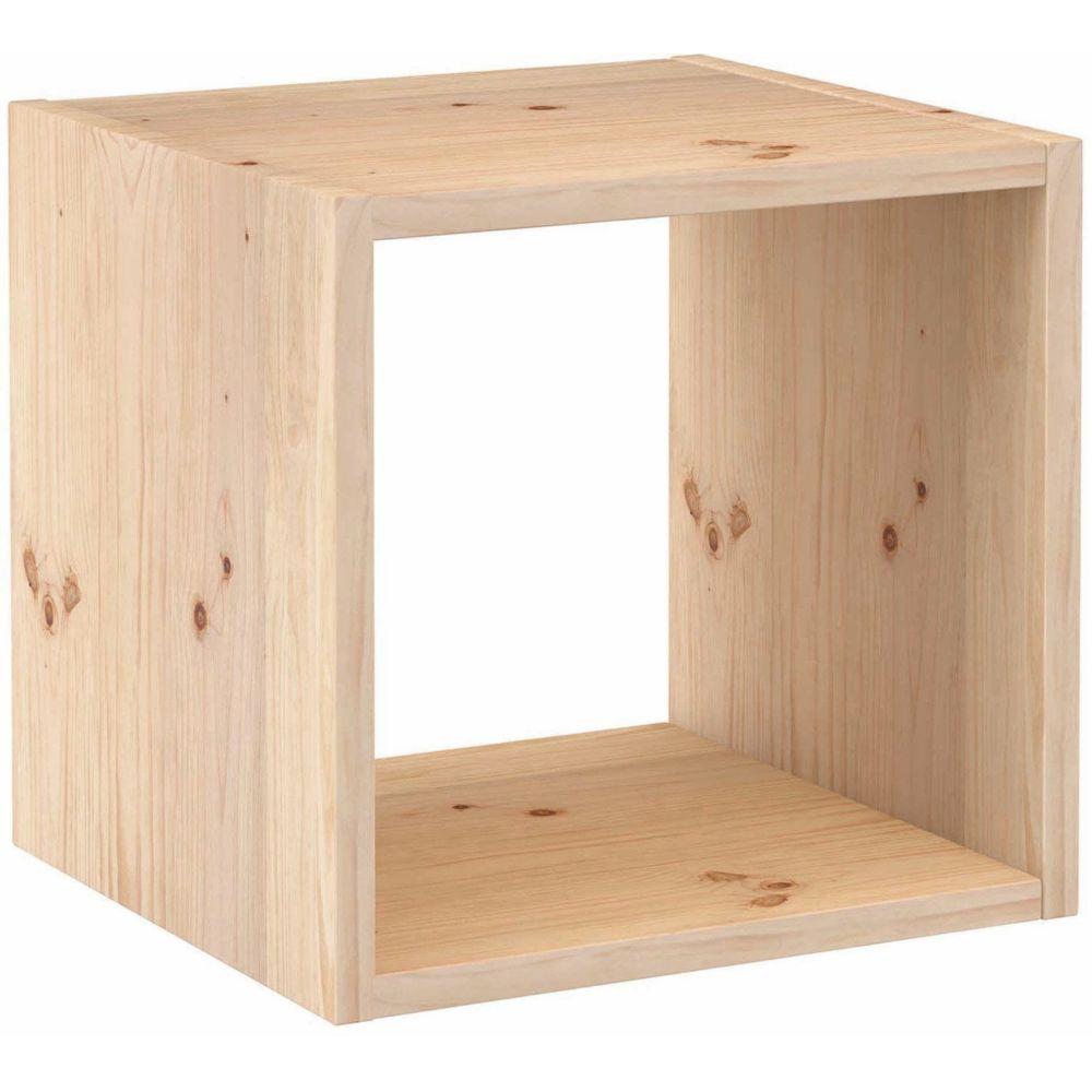 Astigarraga Cube de rangement en pin massif Dinamic Simple