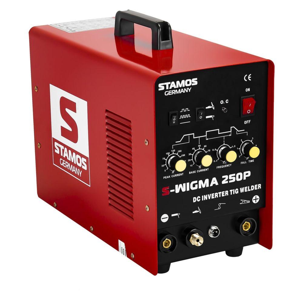 Helloshop26 Poste à souder TIG - 250A - 230V - Puls professionnel 3414012