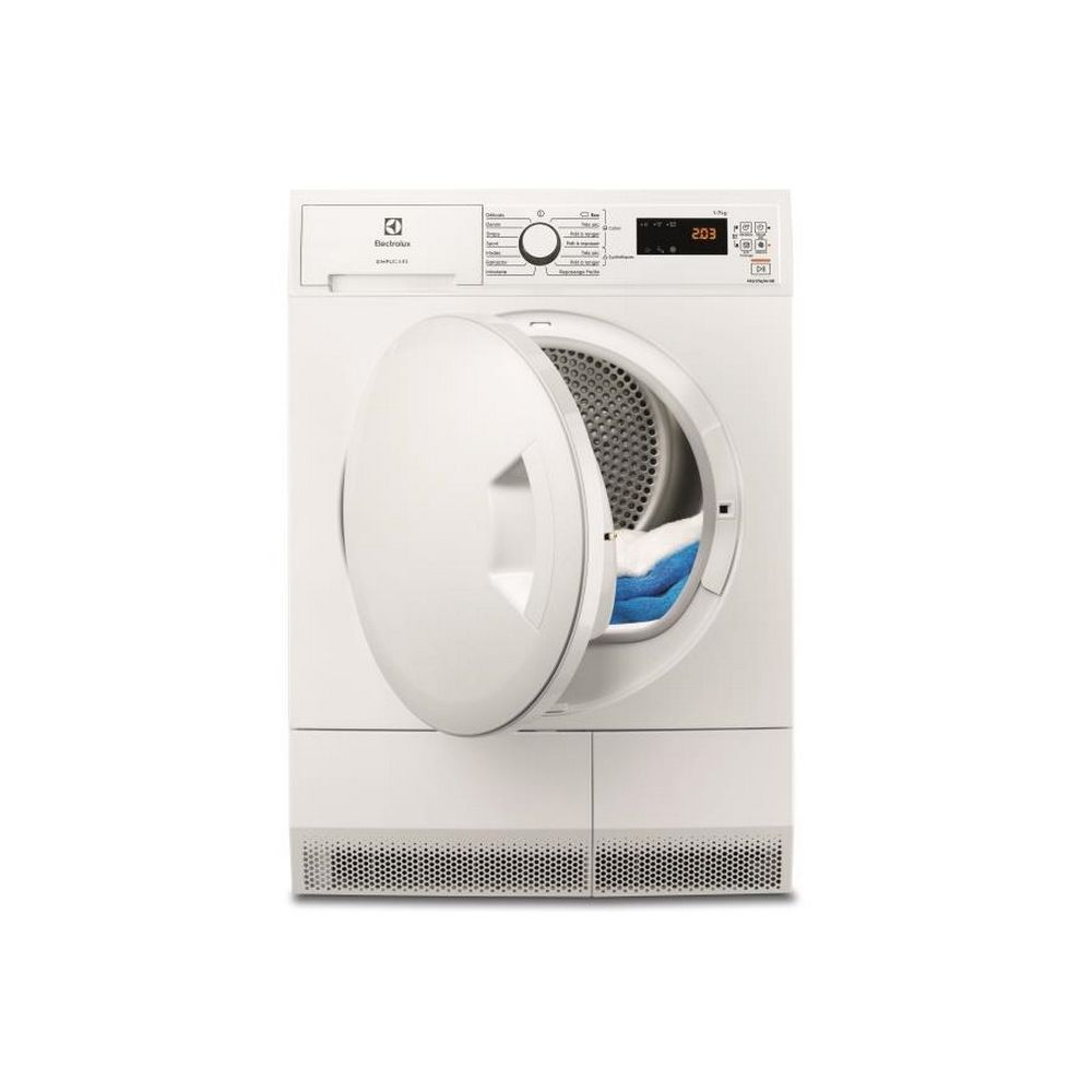 Electrolux electrolux - sèche-linge frontal à condensation 60cm 7kg b blanc - ew6c4735sc