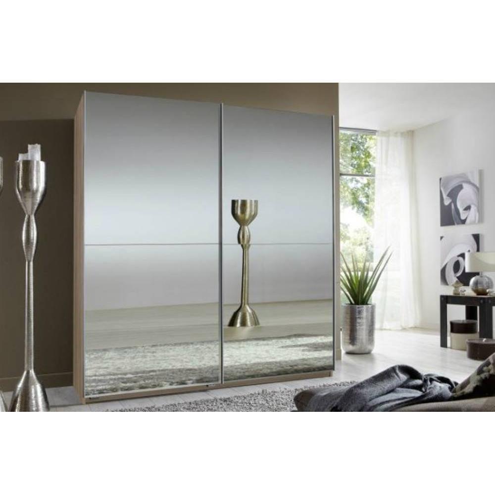 Inside 75 Dressing CLAPTON 179 cm portes coulissantes chêne / miroirs