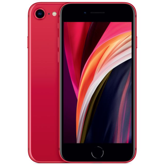 Apple - iPhone SE - 256 Go - PRODUCT RED - iPhone 256 go
