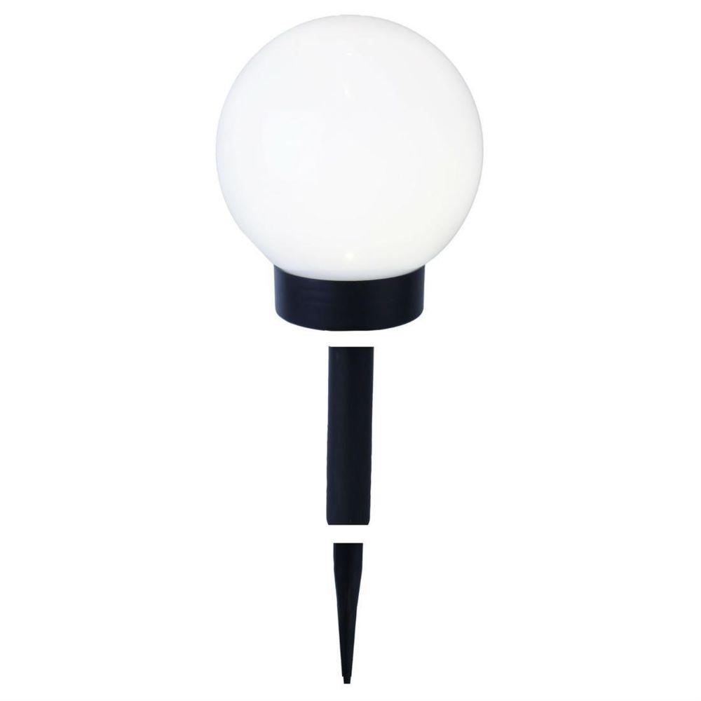 Best Season GLOBE LIGHT - Boule lumineuse d'extérieur Solaire LED à piquer ou poser Ø15cm - Luminaire d'extérieur Best Season design