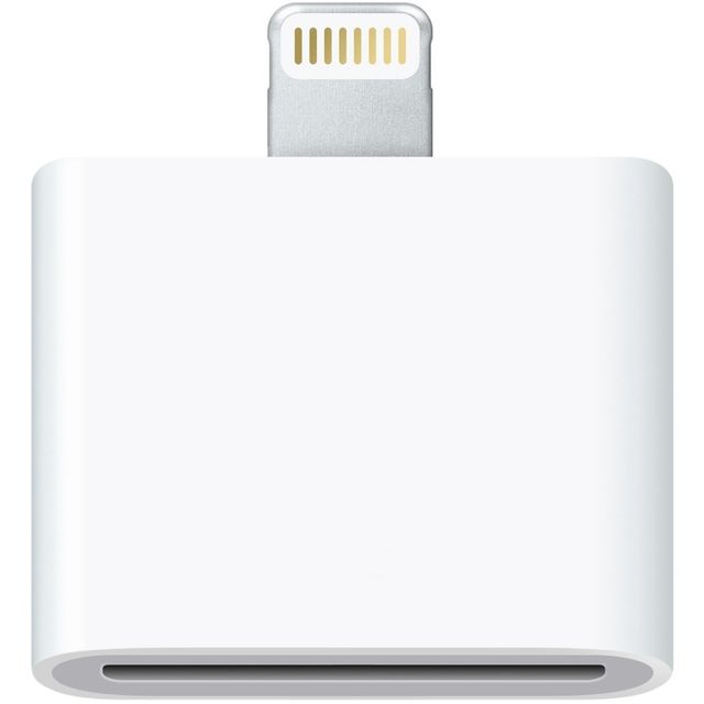 Cabling - CABLING  Premium Adaptateur Lightning de 30 broches vers 8 broches Station d'accueil pour Apple iPhone 7, iPhone 7 Plus, iPhone 5 5S 5 C, iPhone 6, iPhone 6 Plus, iPad mini, iPad 4, iPod Touch 5 G, iPod Nano 7 G en blanc - Cabling