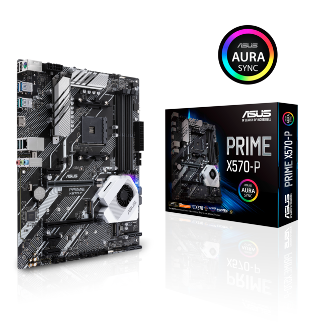 Asus - AMD X570 PRIME - ATX - Composants